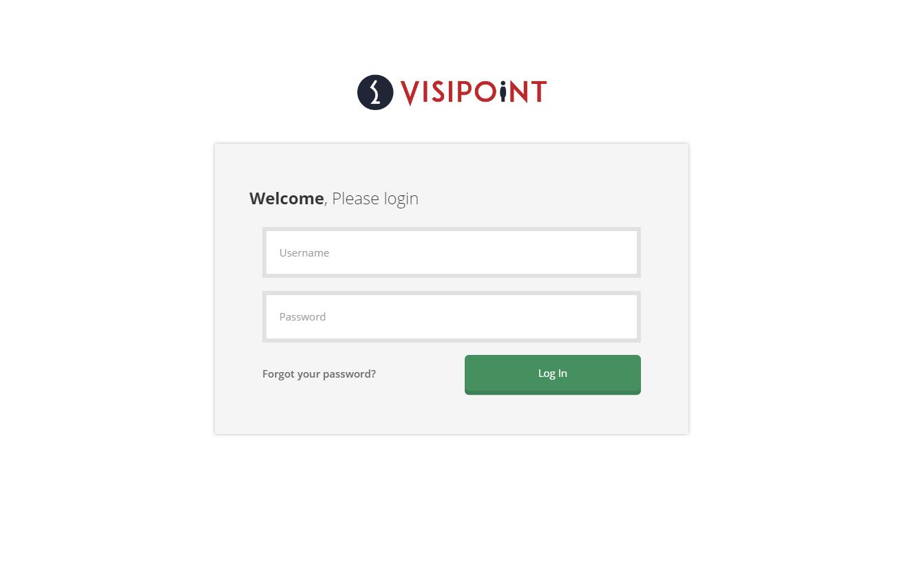 VisiPoint Admin Dashboard