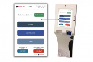 VisiPoint Kiosk & Welcome Screen