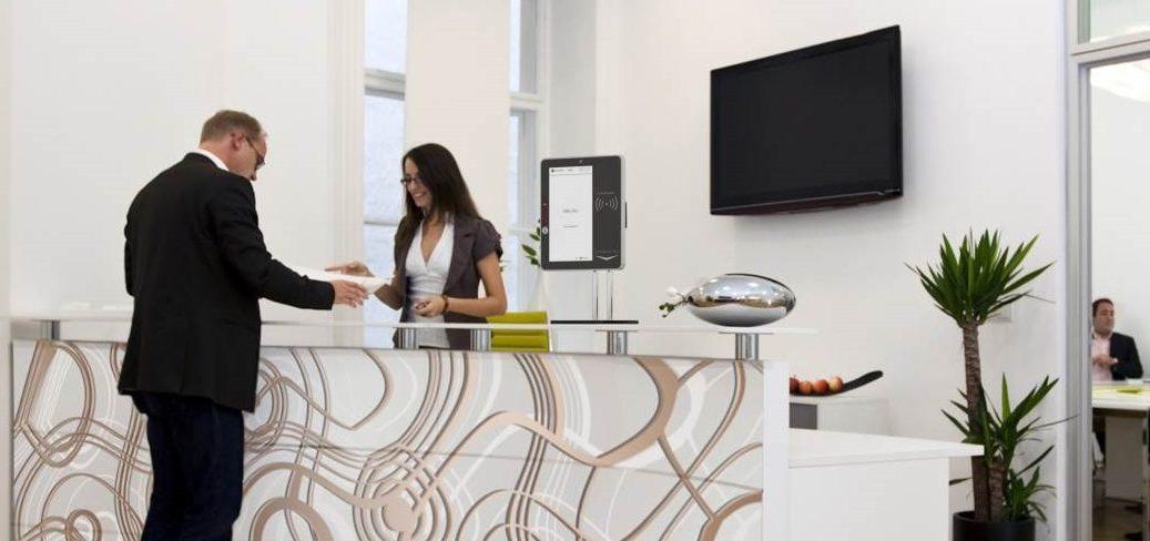 Self Service Reception Kiosk Amp Visitor Management System