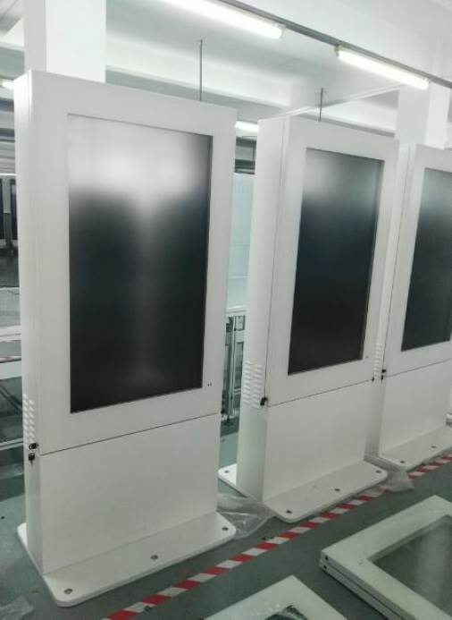 guida outdoor free standing kiosks