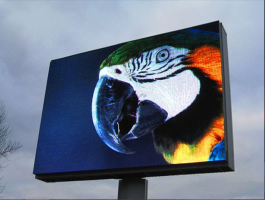 Outdoor LED digital signage