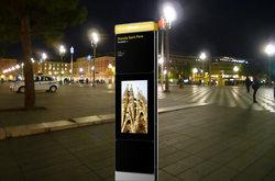 Kiosk deployed outdoors