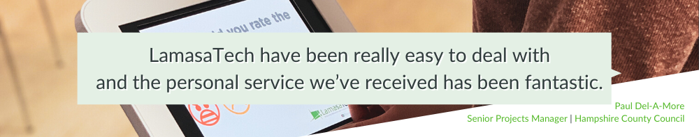 Hampshire County Council: Improving Customer Satisfaction with Real-Time Feedback