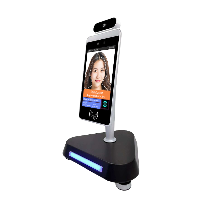 Body Temperature Kiosk with Facial Recognition
