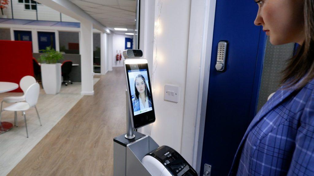 LamasaTech's Zentron Sign-in Kiosks
